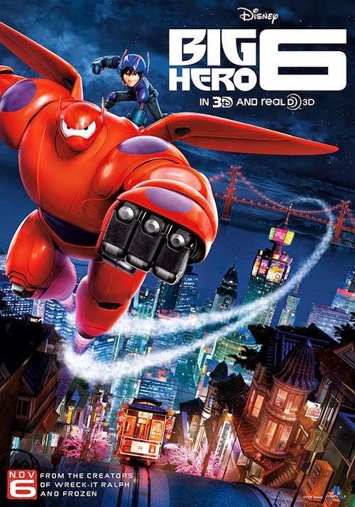 6 Grandes Héroes (2014)