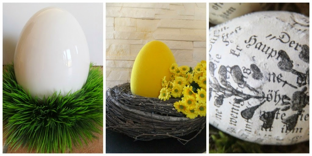 Osterdeko- verschiedene Eier