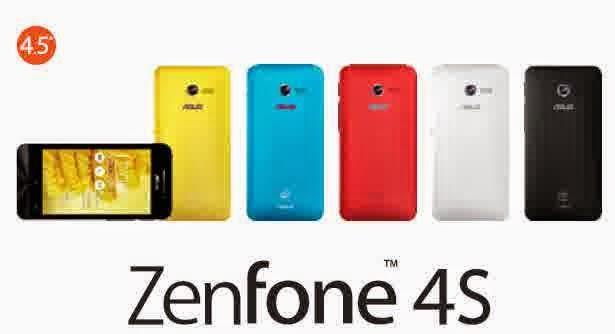Spesifikasi Asus Zenfone 4S dan Harga