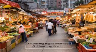 Choosing Right Market Online Business