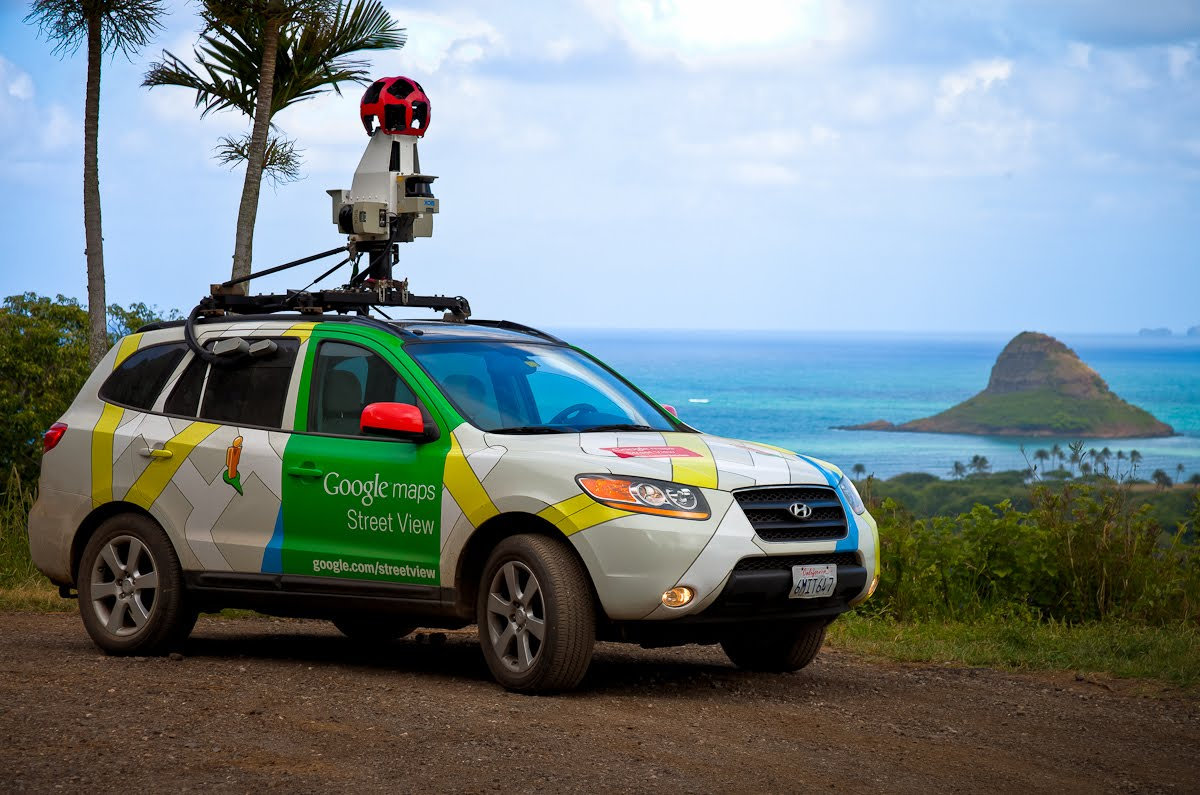 Google Lat Long Street View Says Quot Aloha Quot From Hawaii