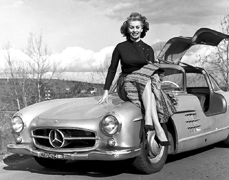 Jake S Car World Sophia Loren Rockin The 1955 Mercedes
