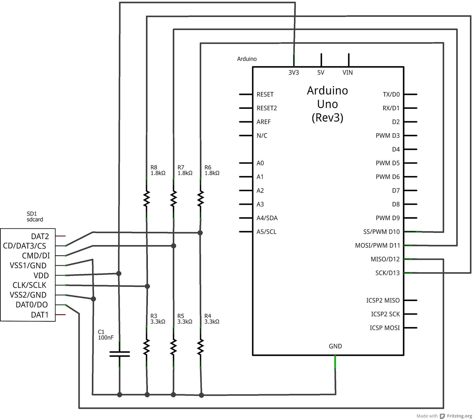 Schema Collegamento Ethernet : Daniele alberti arduino s come collegare