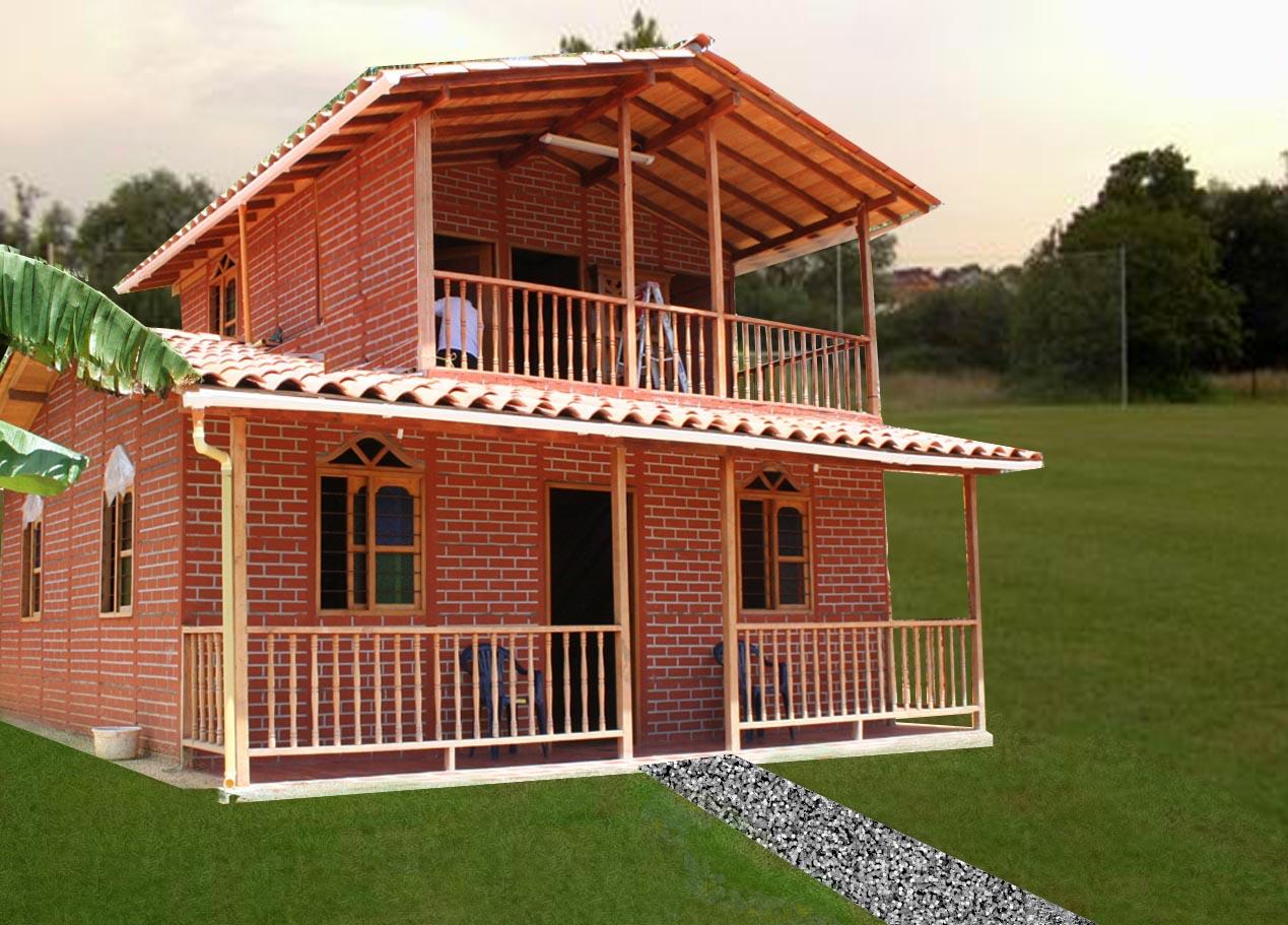 Casas prefabricadas casa real casas de dos niveles for Casa actual