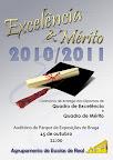 Quadro de Excelência e de Mérito - 2010/2011