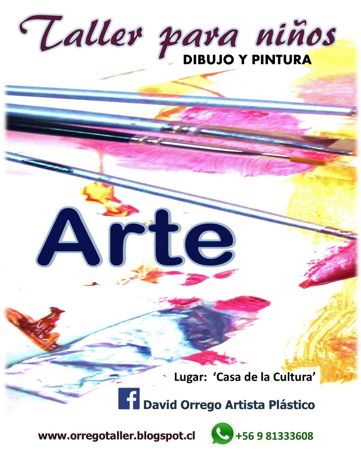 Taller-clases de dibujo y pintura para niños en Antofagasta