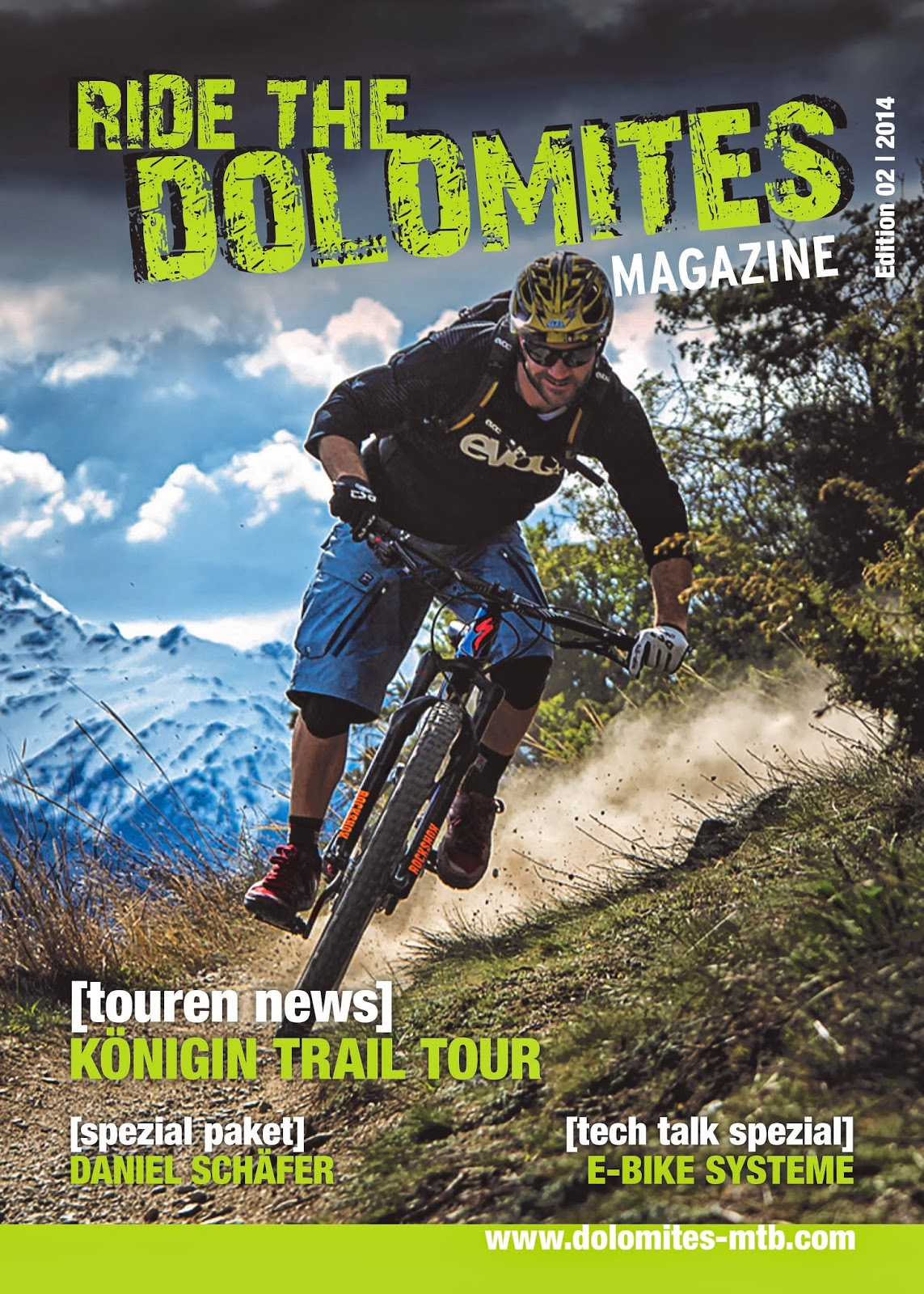 Ride the Dolomites Magazin
