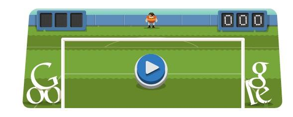 Soccer 2012 doodle