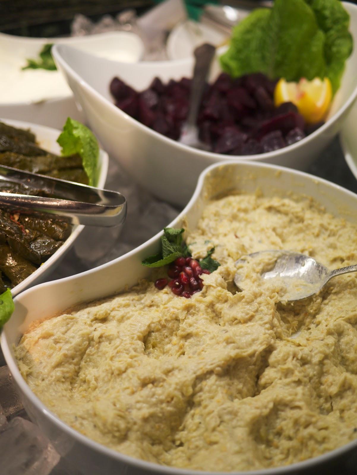 Rodizio Lebanon restaurant Fulham moutabbal