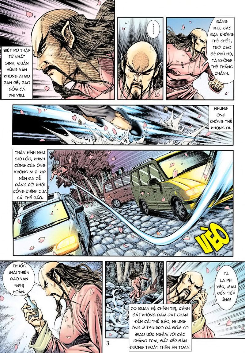 Tân Tác Long Hổ Môn chap 165 - Trang 3