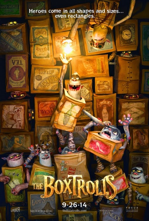 The Boxtrolls movie poster