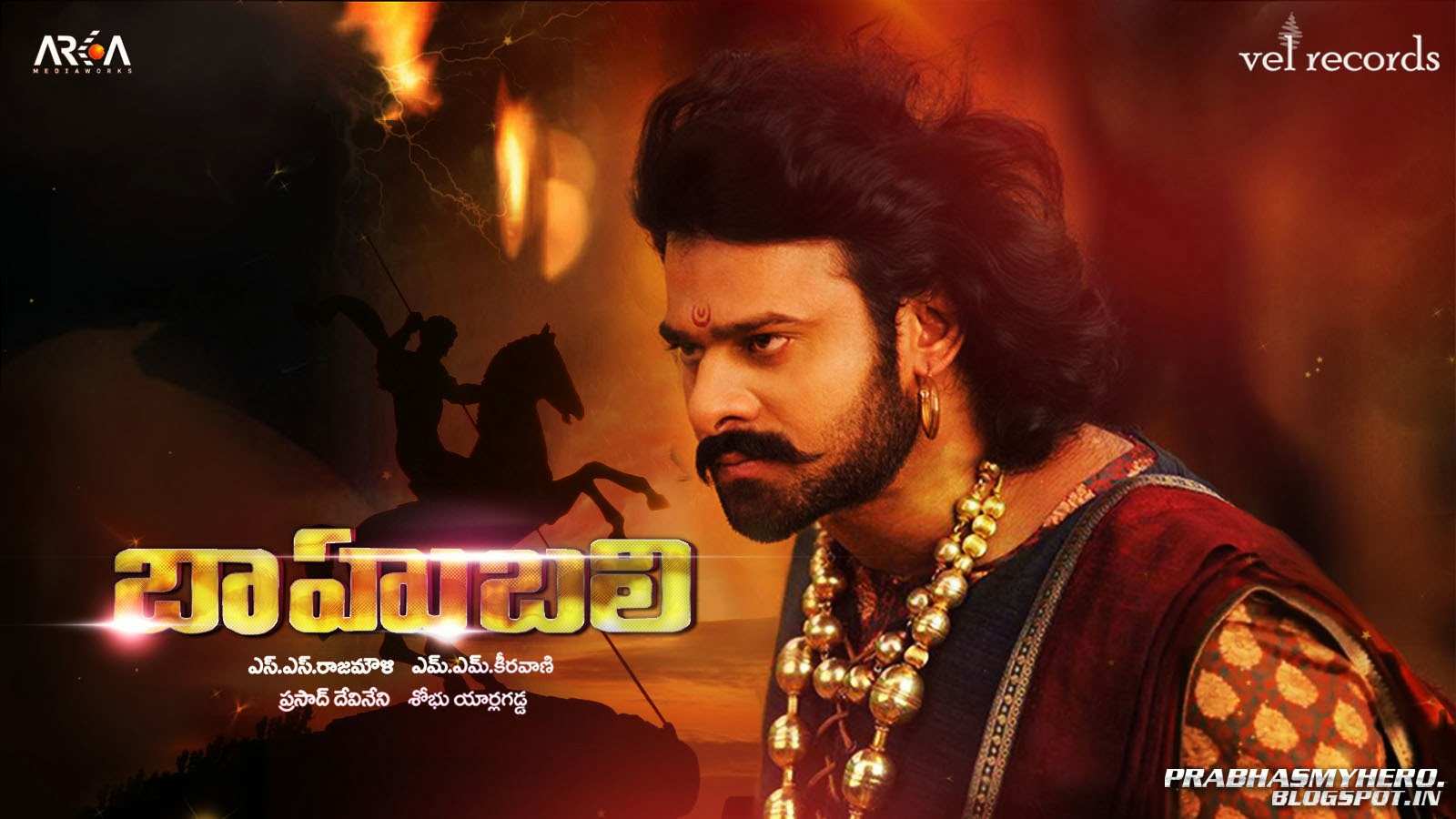 prabhas wide screen wallpapers ~ rebel fans