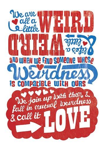 Dr Seuss Quotes About Love Fair Dr Seuss Weird Quote Love