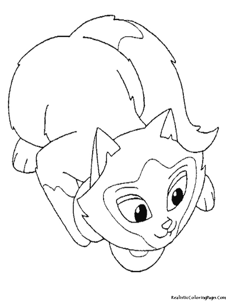 cat eye coloring pages - photo#5