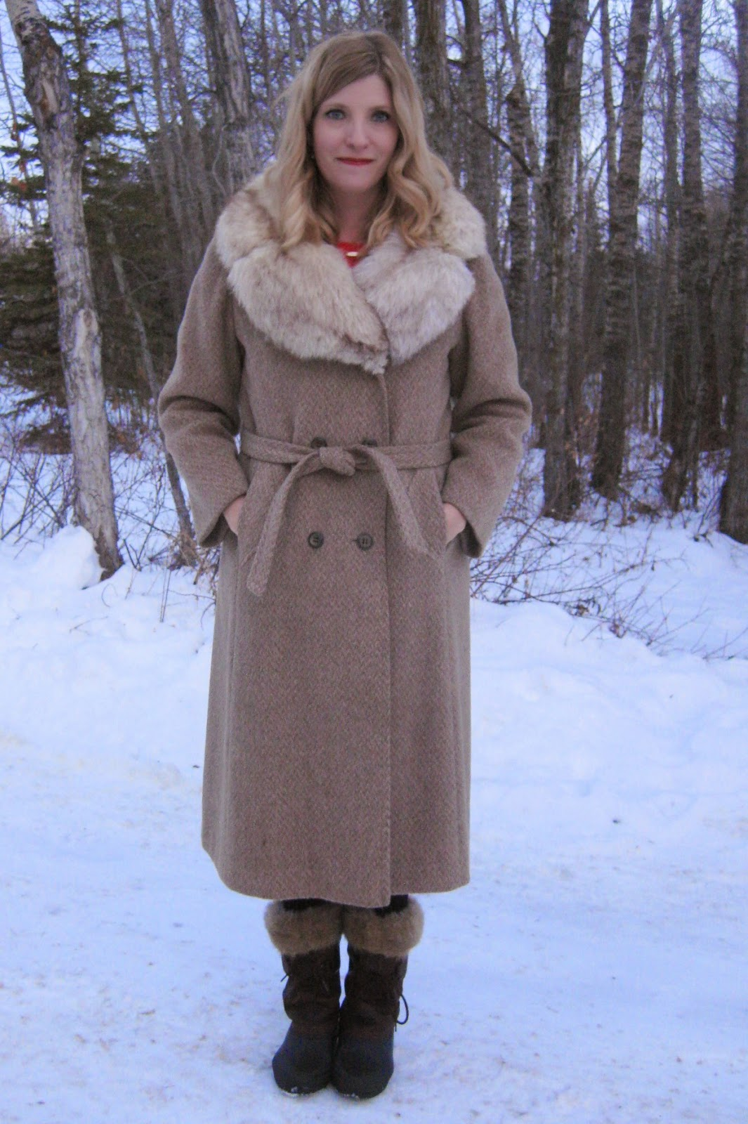 Thrifted Winter Outerwear