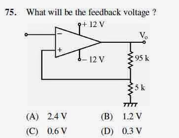 2012 June UGC NET in Electronic Science, Paper III, Question 75