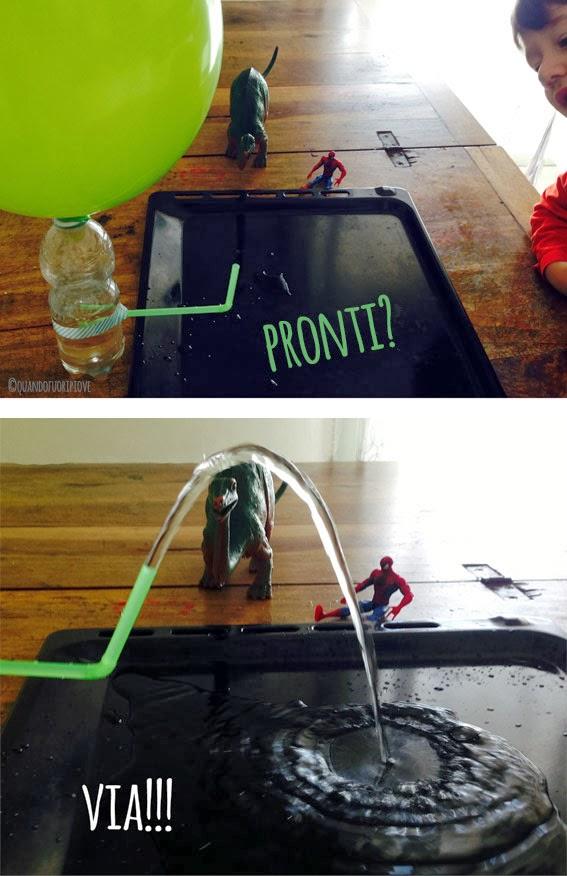 Quandofuoripiove: La fontana in bottiglia