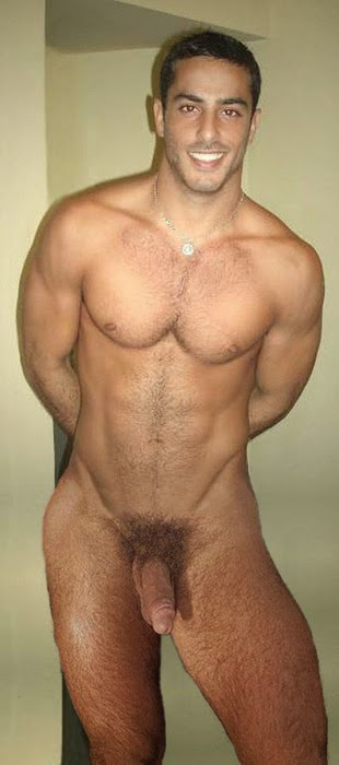 naked arab hot men