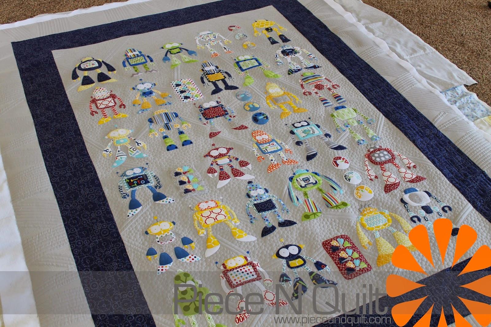 Piece N Quilt: Robot Riot : piece n quilt - Adamdwight.com