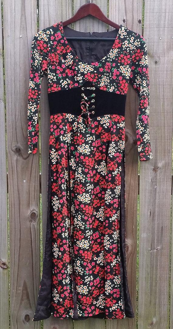 Vintage 60s 70s Tunic Dress