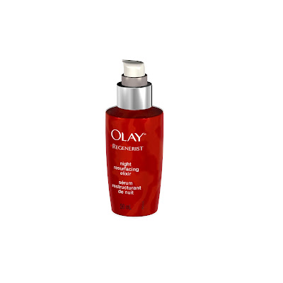 Olay Regenerist Night Resurfacing Elixir.