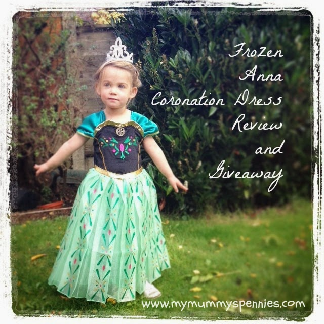 Disney Frozen Anna Coronation Dress green review