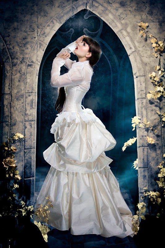 Steampunk Wedding Dress - Affordable Wedding Dresses: Victorian