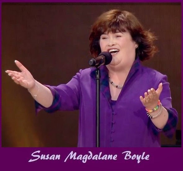 "Susan Sang ""Mull of Kintyre"" to welcome HRH"