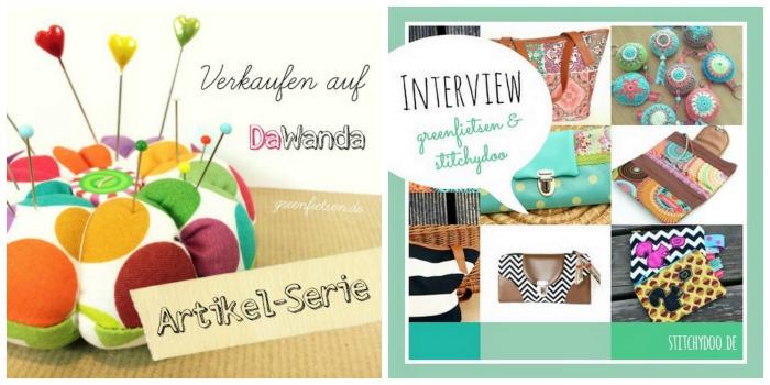 """Jahresrückblick - meine Artikelserie """"Genähtes auf DaWanda verkaufen"""" 2015"""