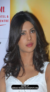 Priyanka Chopra in sleeveless dress