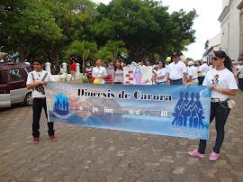 MARCHA POR LA VIDA CARORA - VENEZUELA 24 DE MARZO 2012.