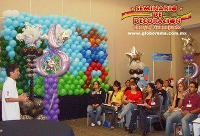 de las decoraciones con globos de baby shower decoracion de baby