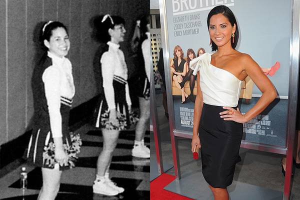 Olivia Munn — Everyone on the internet says the photo on the left is of Olivia Munn. Personally, I can't tell. But hey, the internets is never wrong, right?