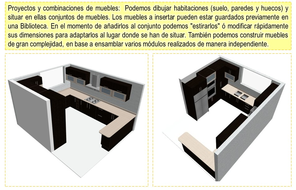 Dise os y optimisaci n de muebles en 3d programa para for Software diseno de cocinas integrales