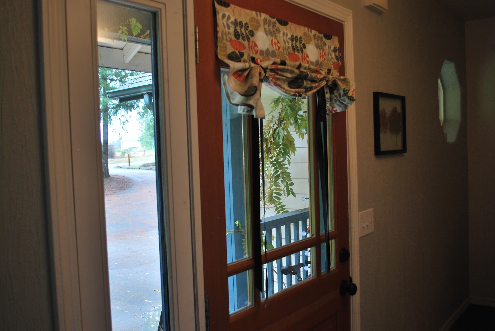 Front Door Side Window Curtains
