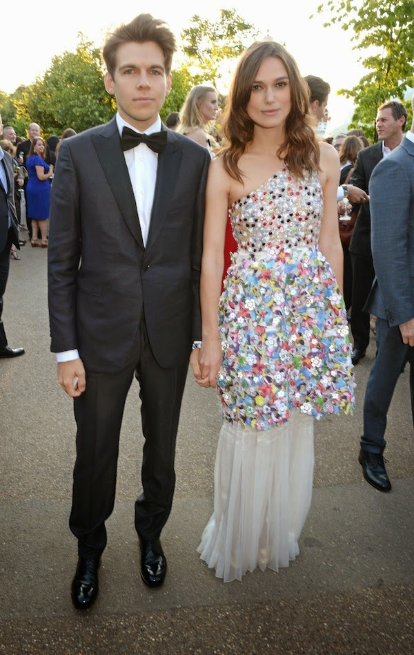 James Righton and Keira Knightley at Brioni Serpentine Gallery Summer Party 2014 London