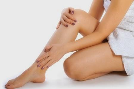 slikonla bacak estetiği