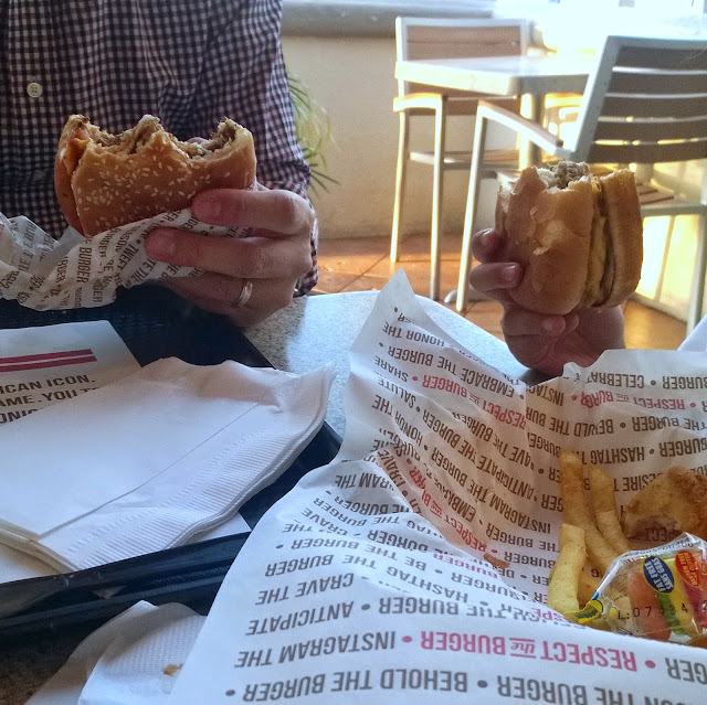 The Habit cheese burgers