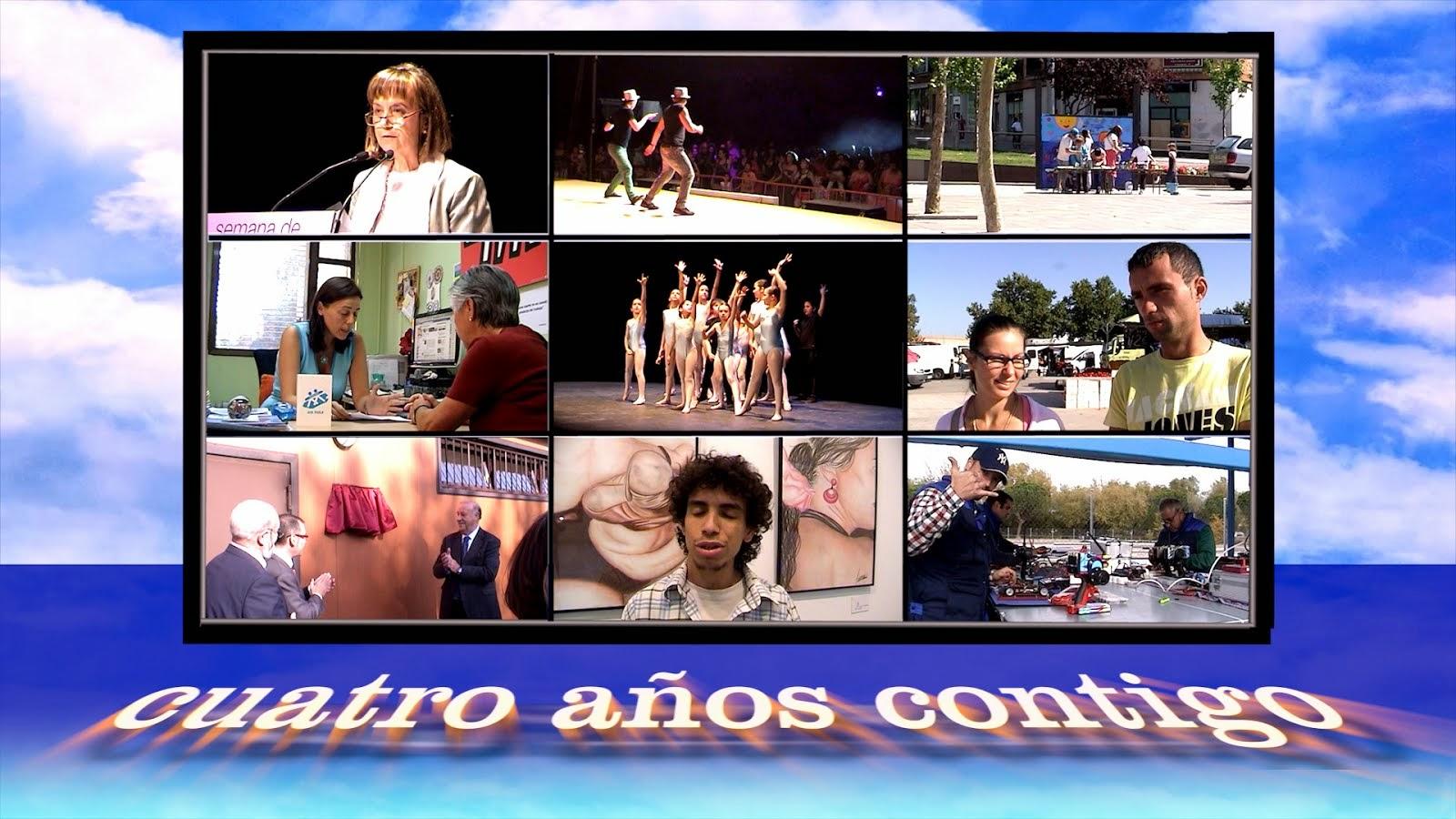 CUATRO AÑOS CONTIGO - Video
