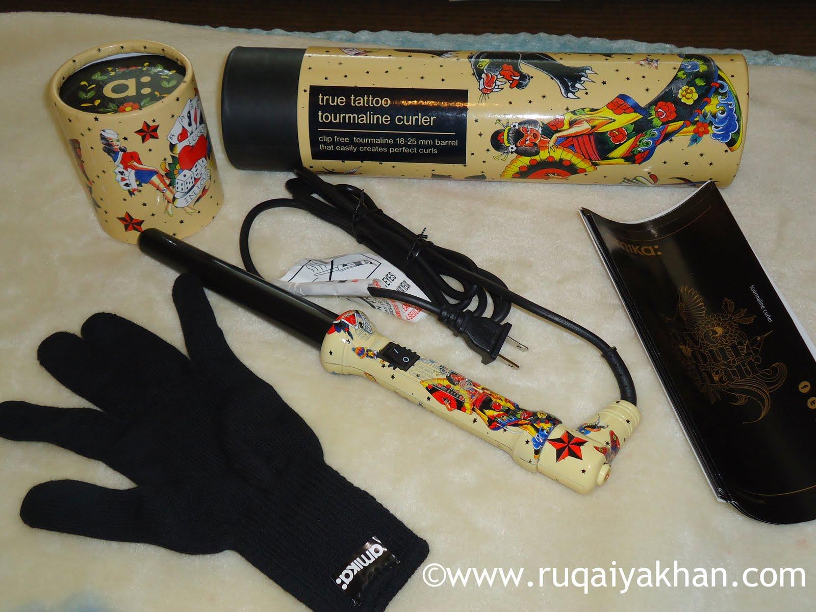 Ruqaiya Khan Amika Love Your Hair Tattoo Tourmaline