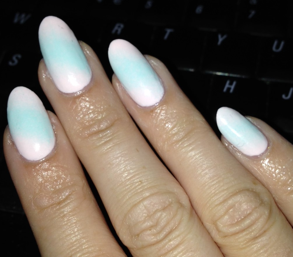 My Mint Nails: New Almond nail shape!