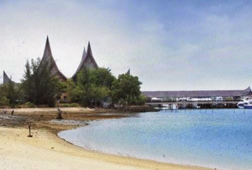 pantai marina : tempat wisata di batam yang segar