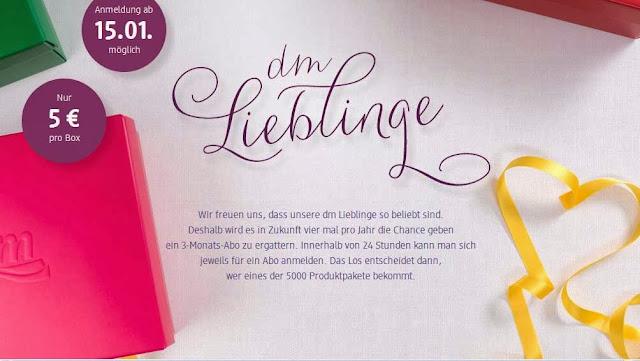 http://www.dmbox.dm.de/lieblinge