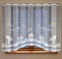 """Firanki świecące w ciemności: """"Fluoseries"""" Koty z oferty HAFT S.A."""