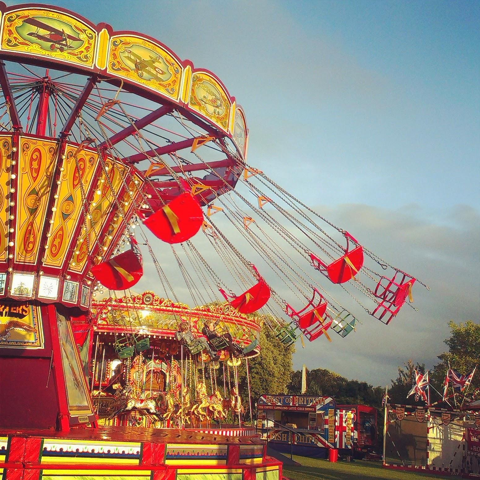 Carters Steam Fair at Victoria Park, Bath