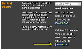 full patch pb terbaru