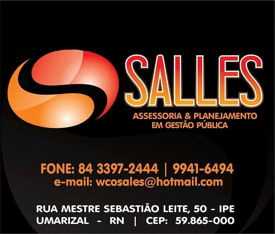 """SALLES """"Assessoria & Planejamento em Gestão Pública"""" estamos prontos para lhe atender"""