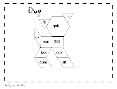 Sight Word Blocks Versions For Sight Words