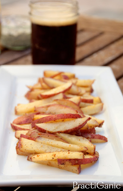 Drunken Oven Baked French Fries