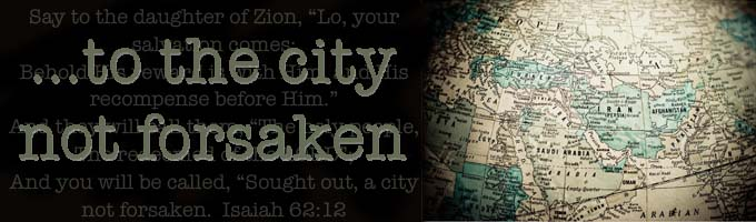 ...to the city not forsaken